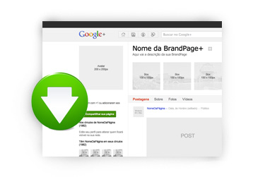 Template Google Plus