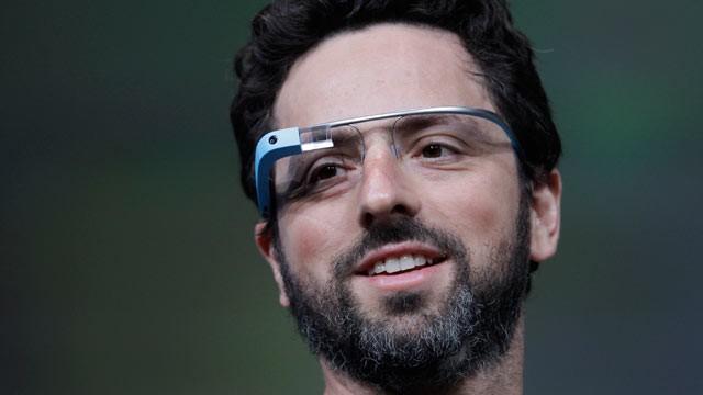 Google Glasses Sergey