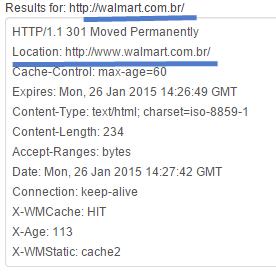Análise de cabeçalho HTTP