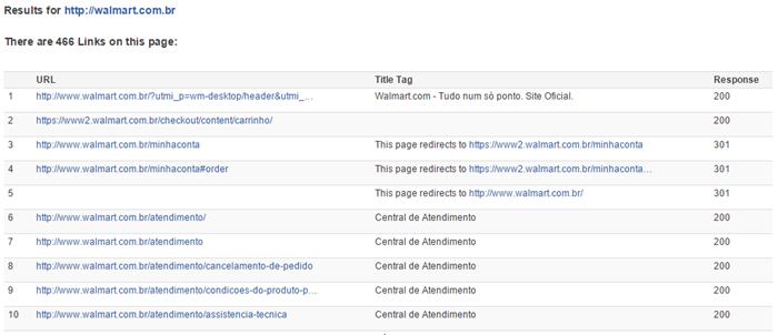Verificar código de cabeçalho HTTP